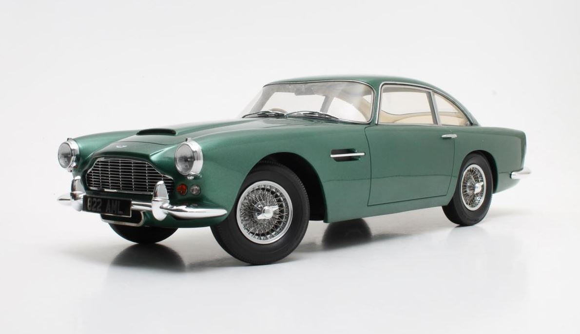 Aston Martin DB4 1958 Groen Metallic - 1:12