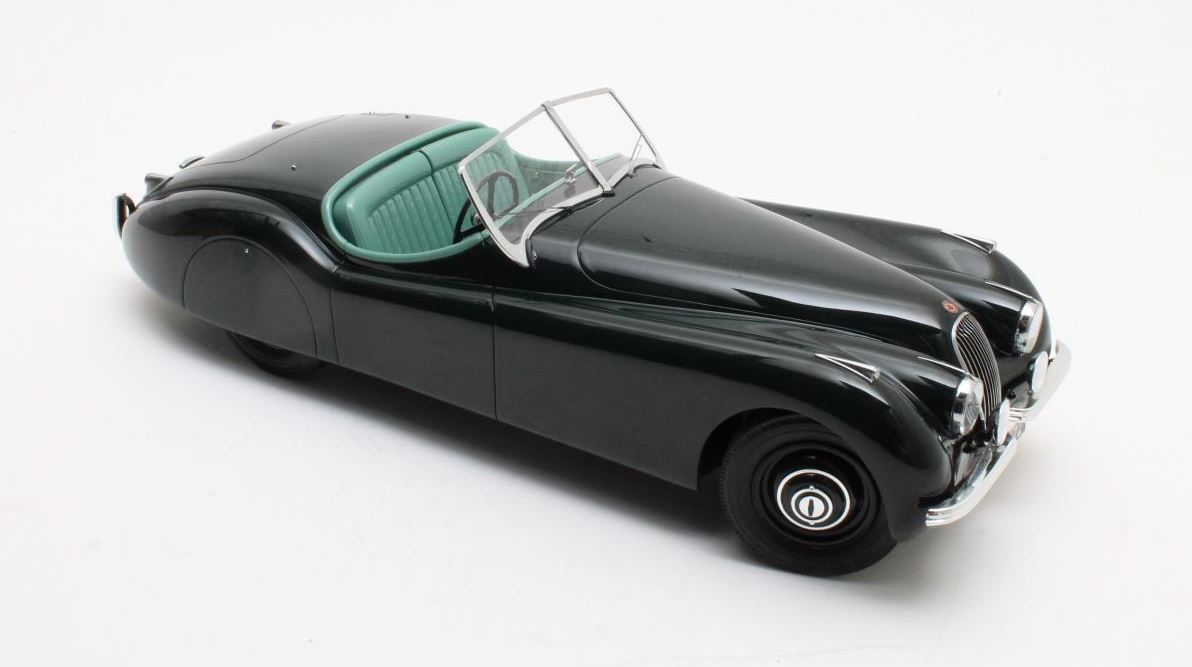 Jaguar XK120 OTS 1953 Green - 1:12