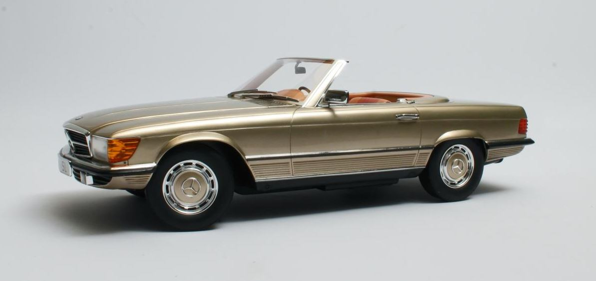 Mercedes-Benz 350 SL (R107) Gold Metallic - 1:12
