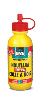 Bison Wood Adhesive Extra Bottle 60+15 g ( 12 pcs)
