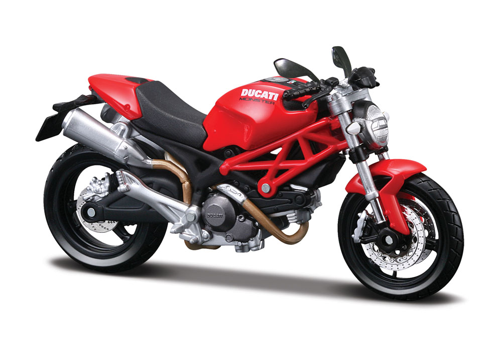 Ducati Monster 696 Rood