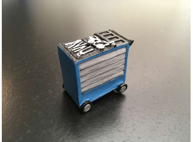 Tool Trolley Blue - Gedore colours
