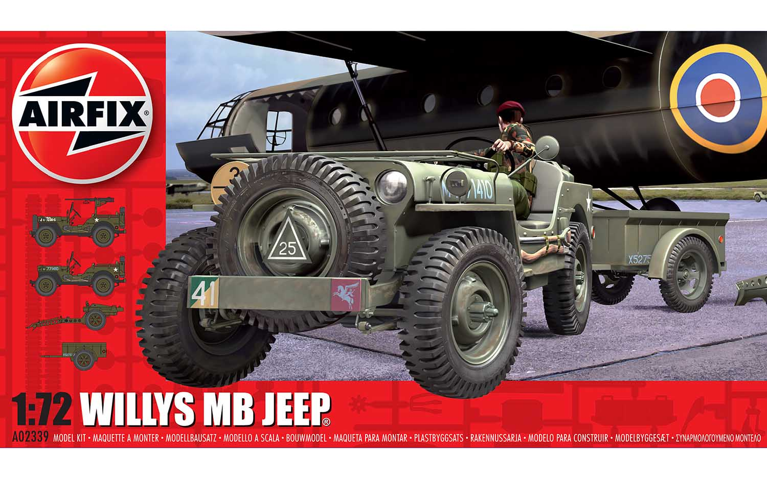 Willy's MB Jeep - 1:76