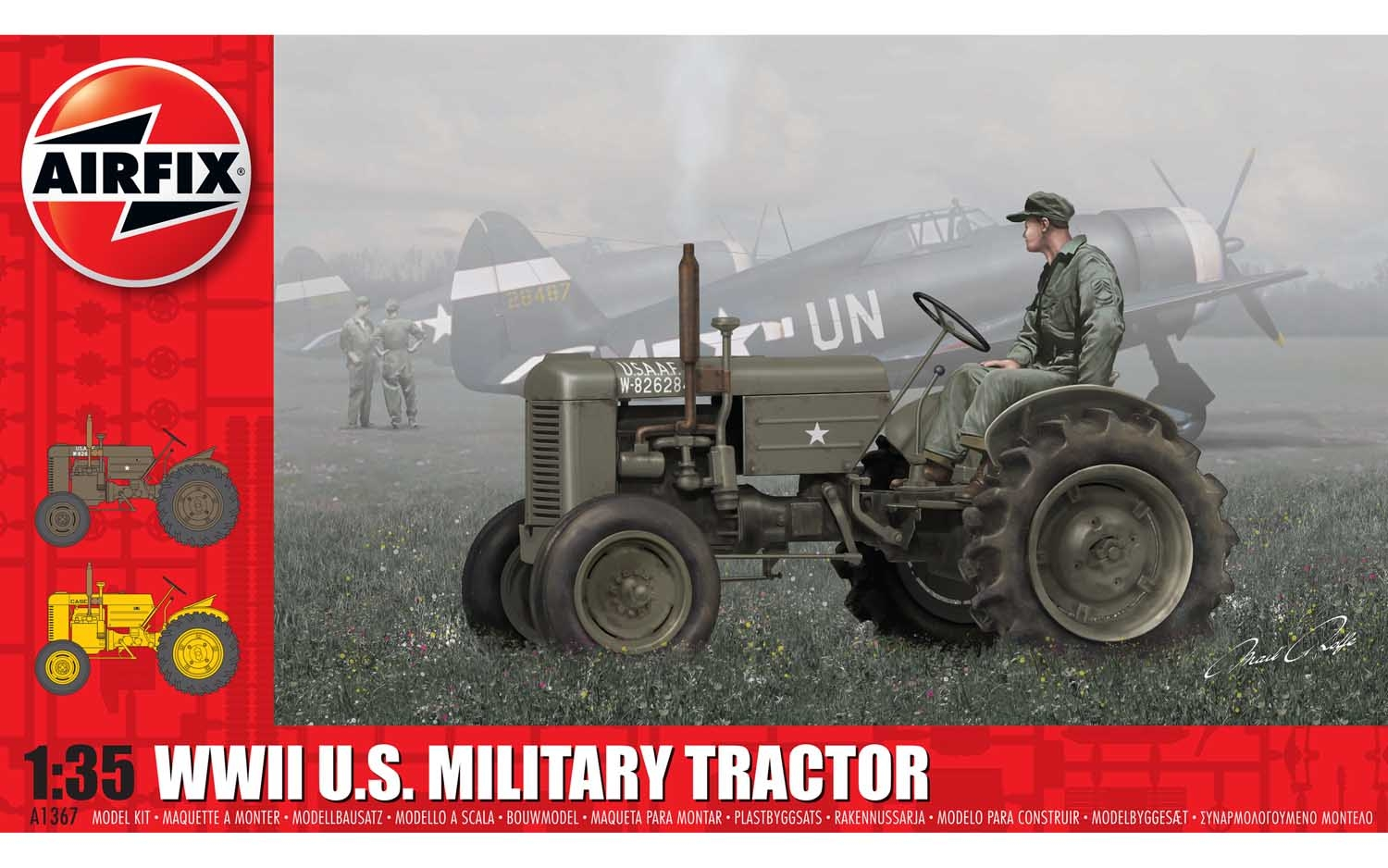 WWII U.S. Military Tractor - 1:35