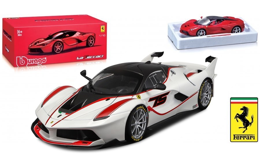 Ferrari FXX-K No.75 Wit/Rood Signature Series - 1:18