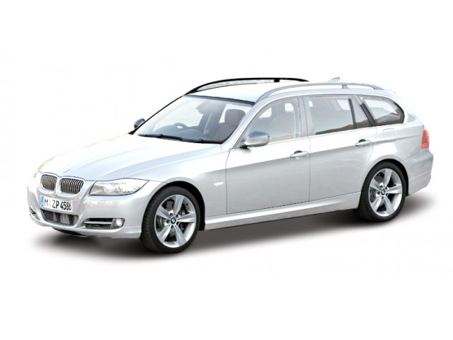 BMW 3-Serie Touring 2010 Wit