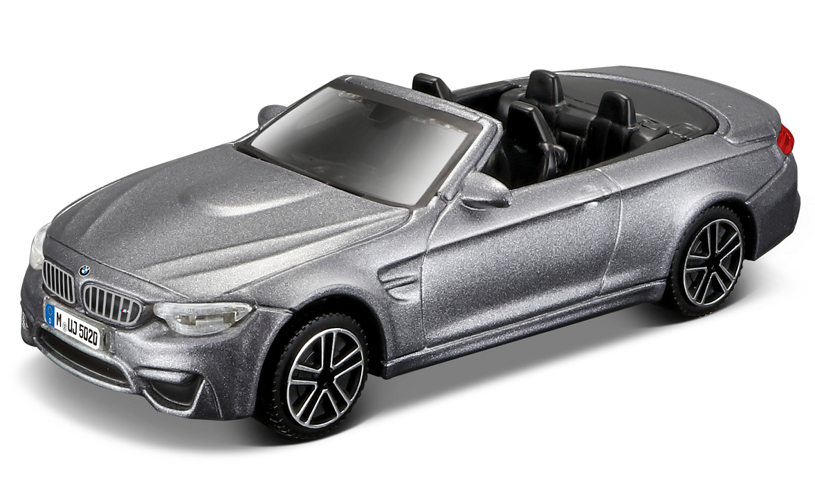 BMW M4 Convertible 2014 Grey - 1:43
