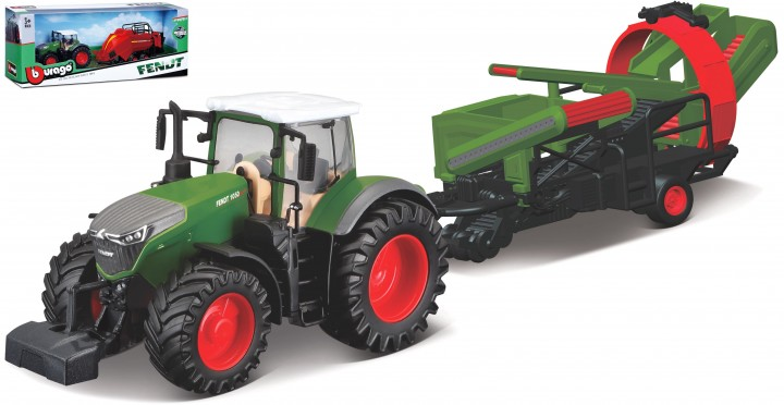 Fendt 1050 Vario with Cultivator