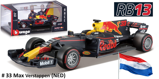 Renault Red Bull Racing RB13 2017 No.33 M. Verstappen