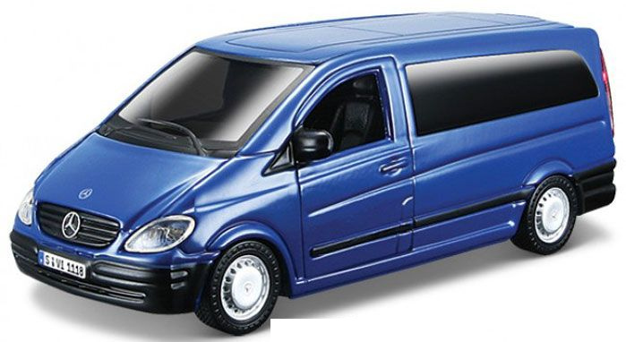 Mercedes-Benz Vito Blauw Model Kit