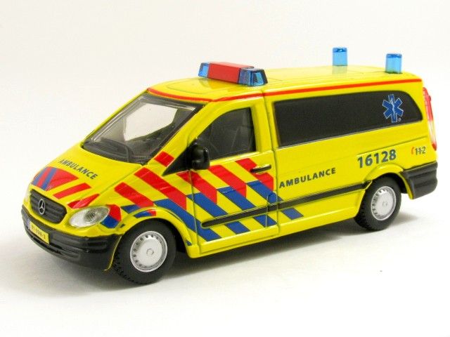 Mercedes-Benz Vito Ambulance Nederland