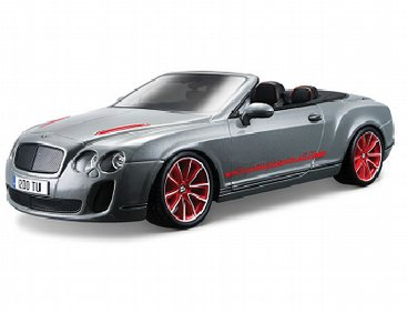 Bentley Continental ISR Cabriolet Grijs Kit