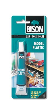 Bison Model Plastic kaart 25ml ( 6 stuks )