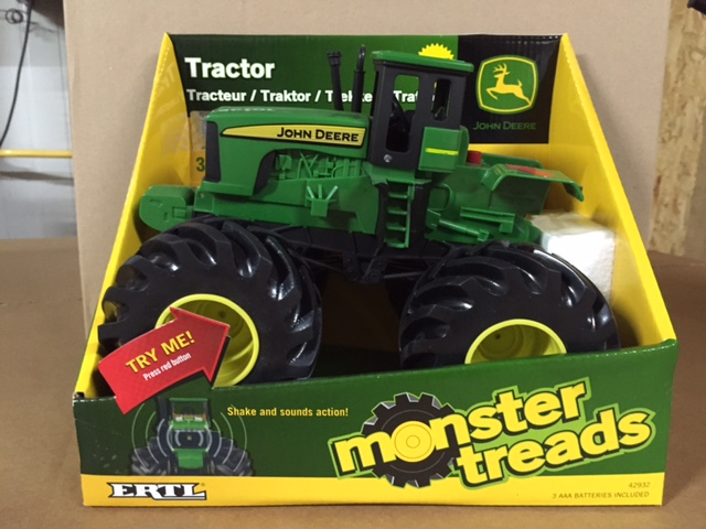 Monster Treads Shake and Sound Tractor