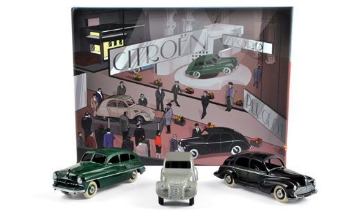 Coffret Salon de Paris (2CV)