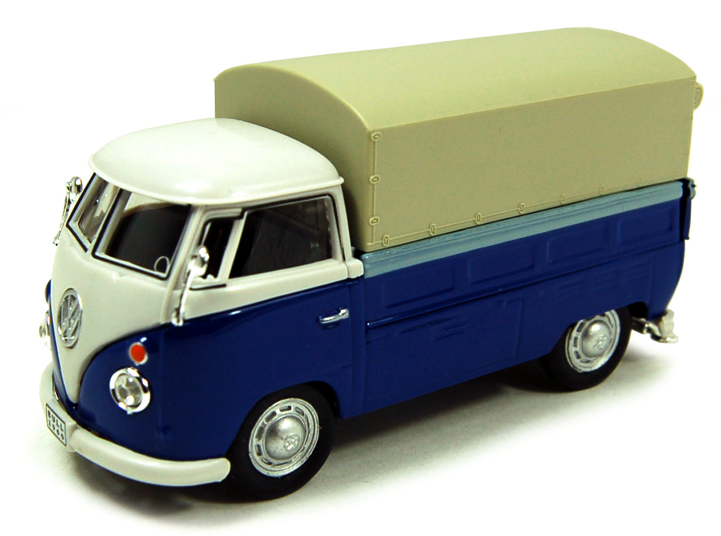 Volkswagen T1 Pick Up met Huif Blue