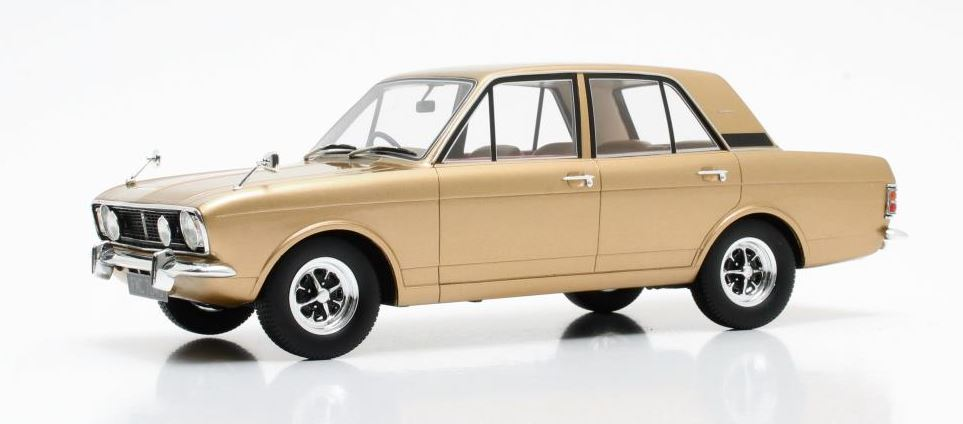 Ford Cortina 1600E 1970 Goud Metallic