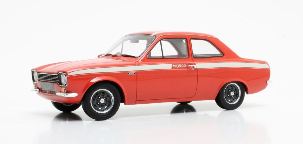 Ford Escort MKI Mexico 1973 Rood