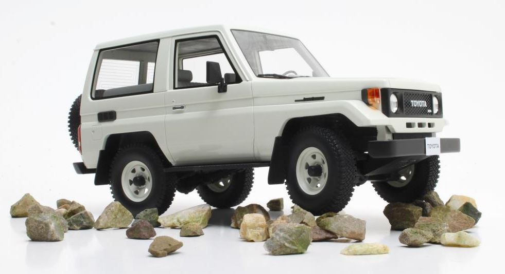 Toyota Landcruiser BJ70 1984-1989 Wit
