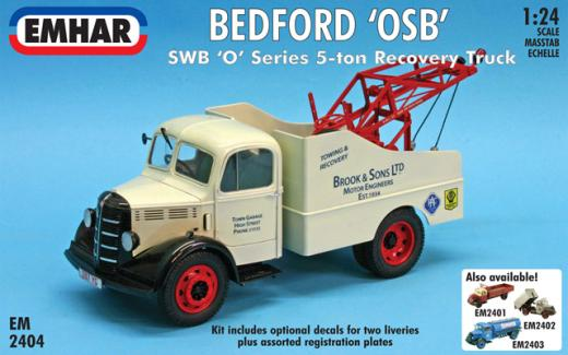 Bedford OSB Recovery Truck