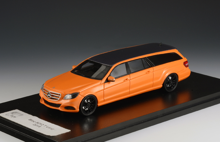 Mercedes-Benz E-Class (S212) Binz Estate Lang 2015 Orange