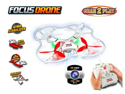 Focus Drone met Camera