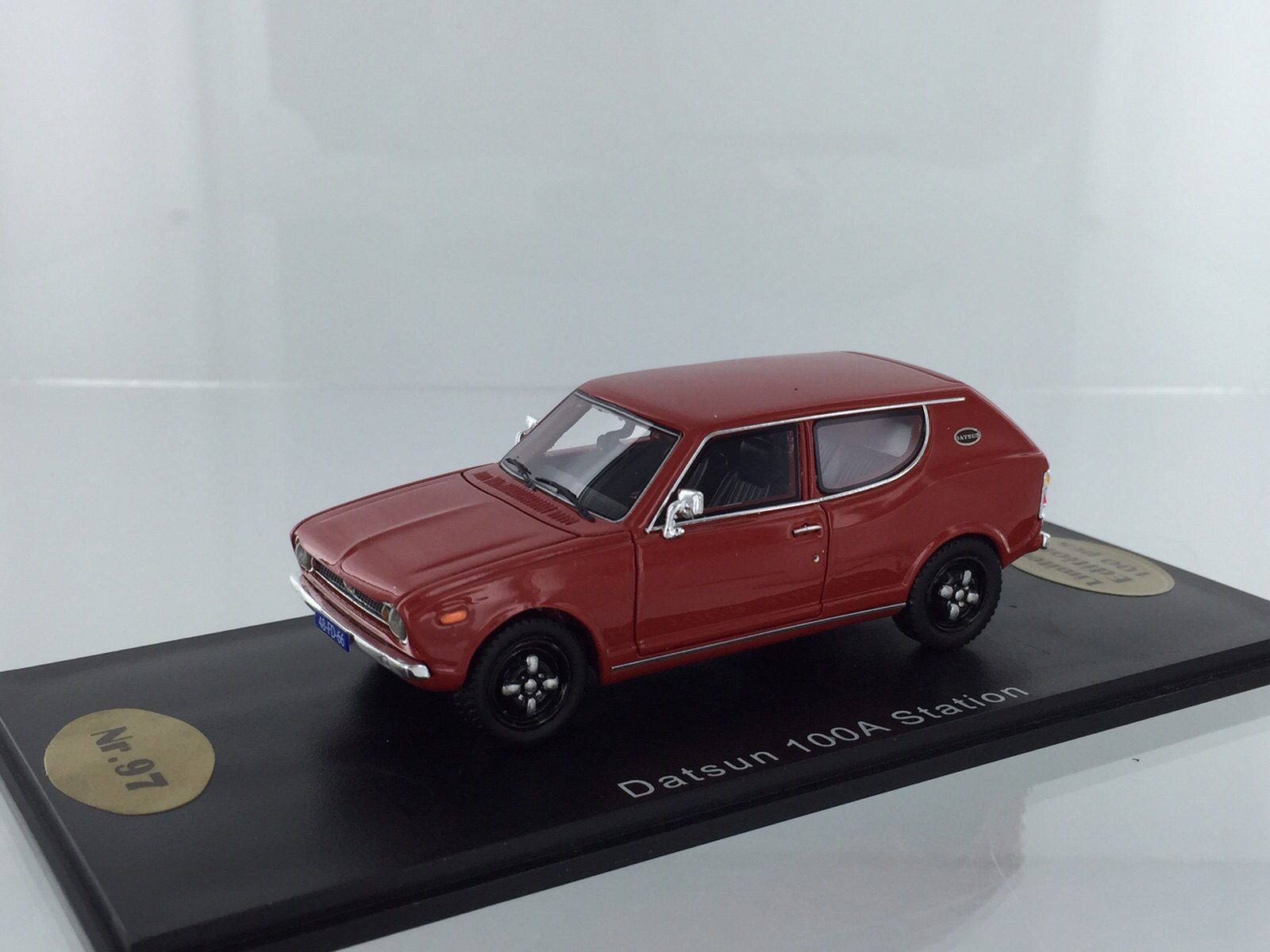 Datsun 100a Station Red