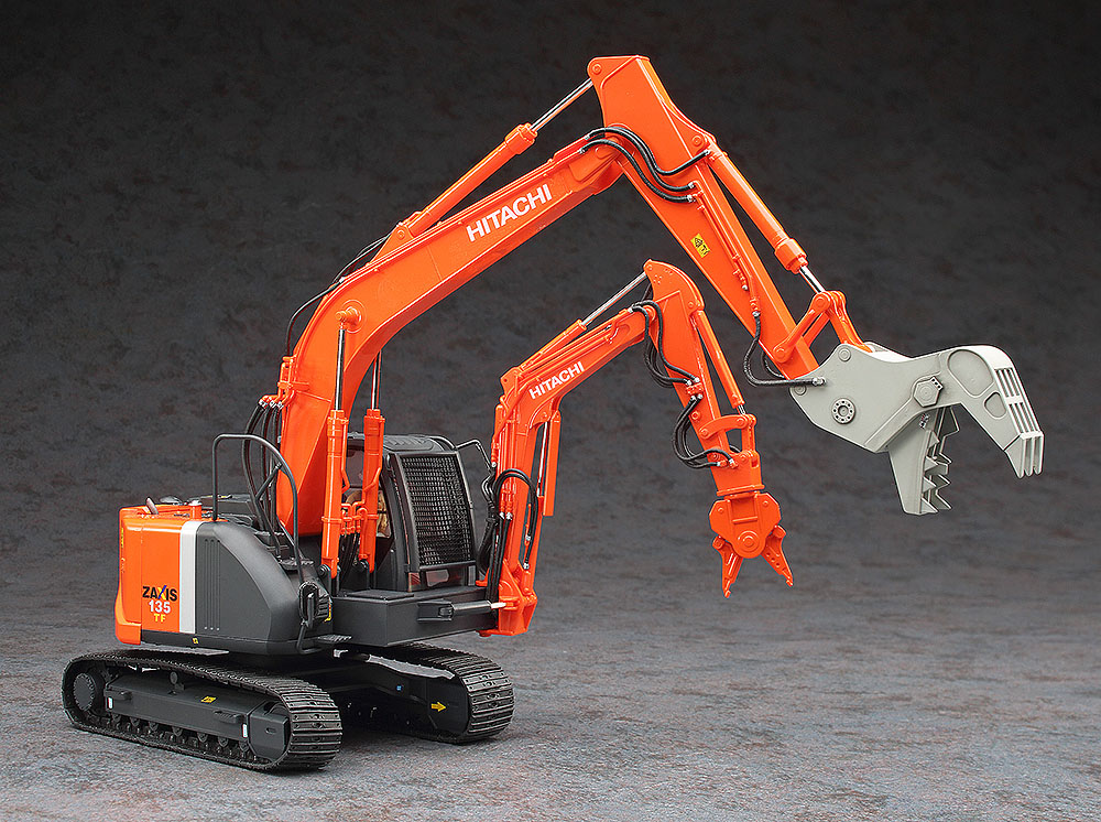 Hitachi Double Arm Working Machine New 1:35