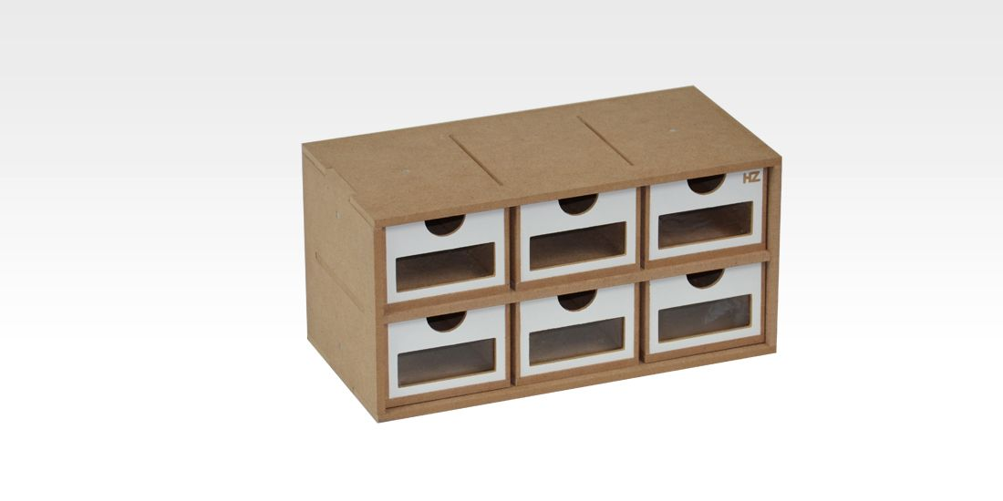 Modular Organizer 6 Drawers