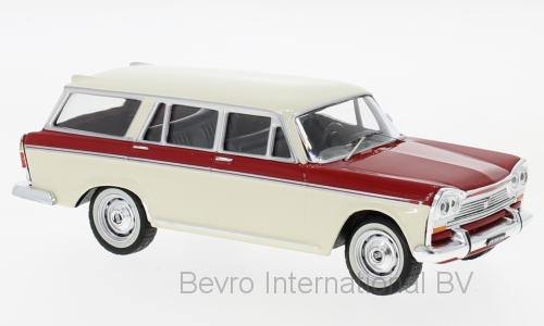Fiat 2300 1965 Wit/Rood