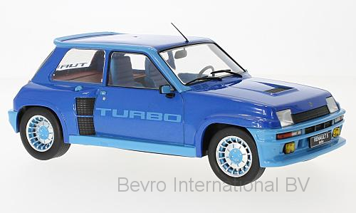 Renault 5 Turbo Phase 1 1981 Blue