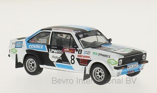 Ford Escort MKII RS No.8 Boucles de Spa 2014 P. Snijers/E. Eggermont