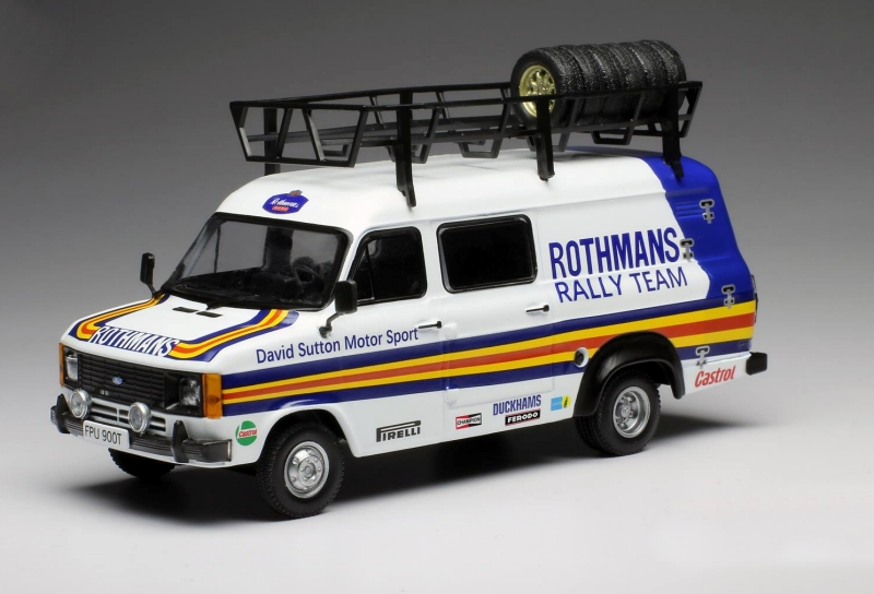 Ford Transit MKII David Sutton Motorsport - Rally Assistance Rothmans