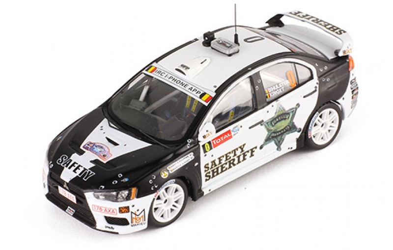 Mitsubishi Lancer Evo X Rally Ypern 2011 Safety Car