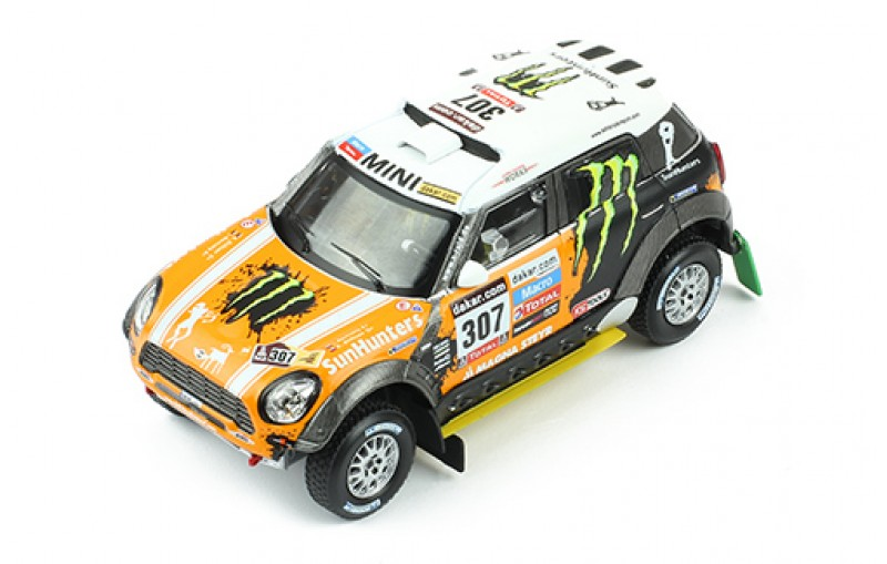 Mini ALL 4 Racing No.307 Monster Rally Dakar 2013 Movitskly/Zhiltsov