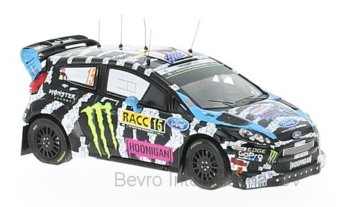 Ford Fiesta RS WRC No.15 Rally Catalunya 2014 K. Block/A. Gelsomino