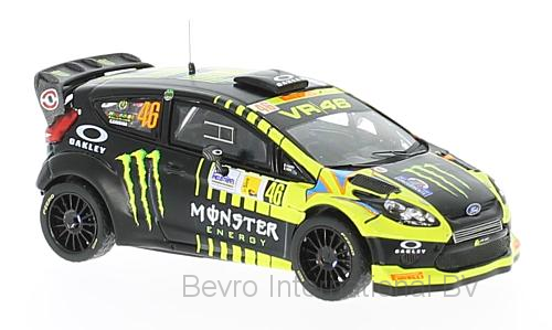 Ford Fiesta RS WRC No.46 Monster Rally Monza 2013 V. Rossi/C. Cassina