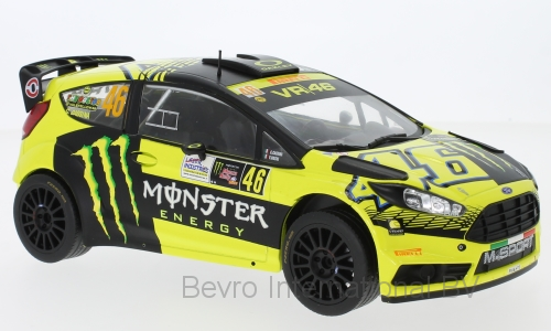 Ford Fiesta RS WRC Rally Monza No.46 2015 Rossi/Cassina