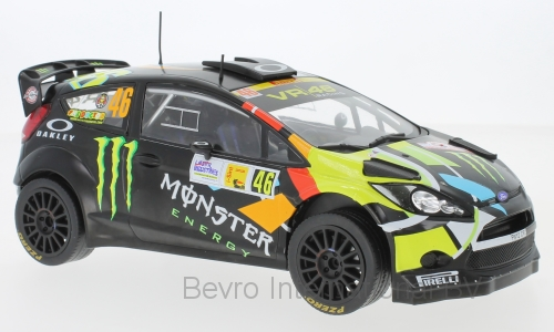 Ford Fiesta RS WRC Rally Monza No.46 2012 Rossi/Cassina