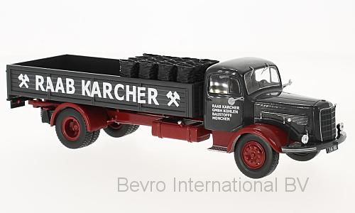 Mercedes-Benz L334 met Lading - Raab Karcher
