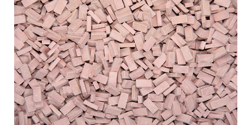 bricks - medium brick-red 9000 pcs