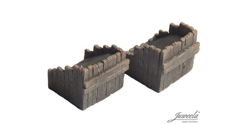Wooden Buffer (railway treshold) 2 pieces