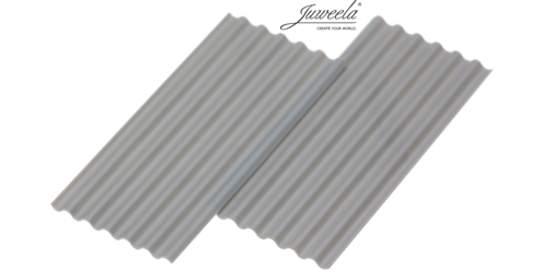 Corrugated Iron Sheeting Grey 30 pieces