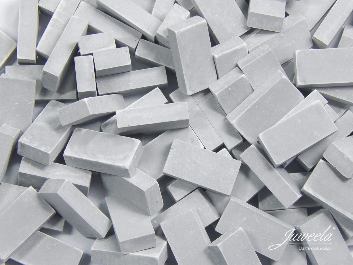 Bricks Light Grey 100 pieces