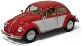 Volkswagen Classic Beetle 1967 Red/White