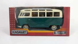 Volkswagen T1 Samba Bus 1962 Green/White
