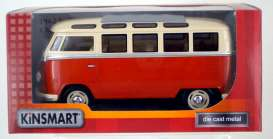 Volkswagen T1 Samba Bus 1962 Red/White