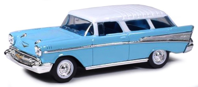 Chevrolet Nomad 1957 Blue/White