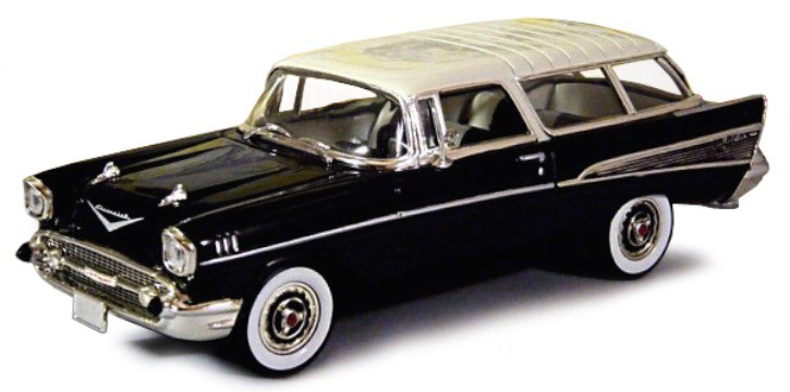 Chevrolet Nomad 1957 Black/White