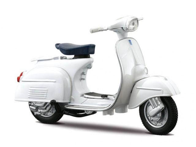 Vespa Scooter 125 GT (1966) White